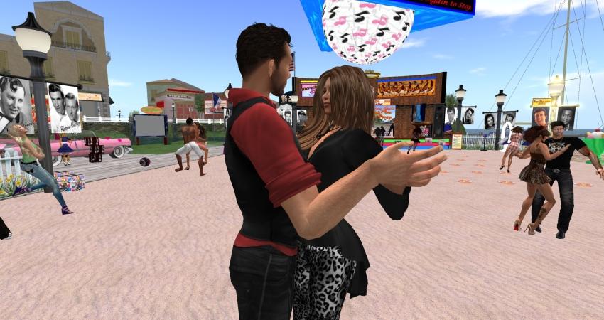 Dancing at Runaround Sue's